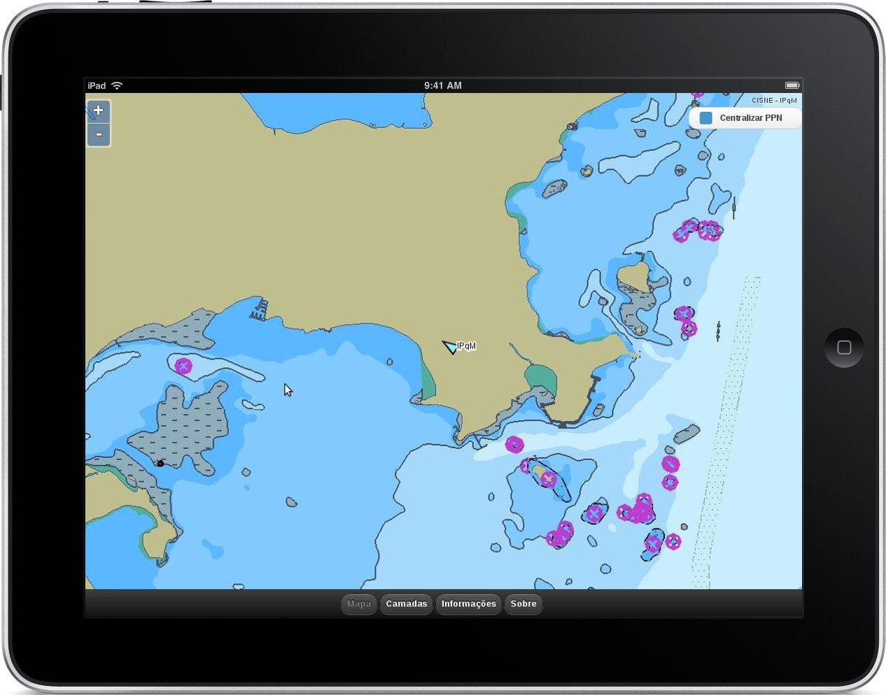 TCC - Pós-graduação - Interface web de apoio ao sistema de navegação utilizado pela Marinha do Brasil