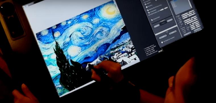Apenas lindo: Adobe e NVIDIA simulando tinta em 3D