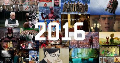 Filmes, séries, HQs, livros e jogos de 2016